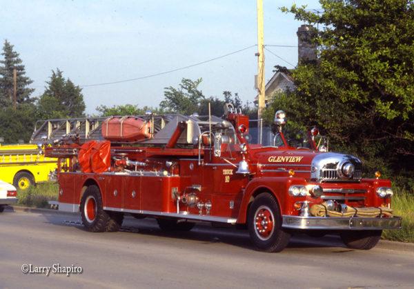 Seagrave anniversary series ladder truck
