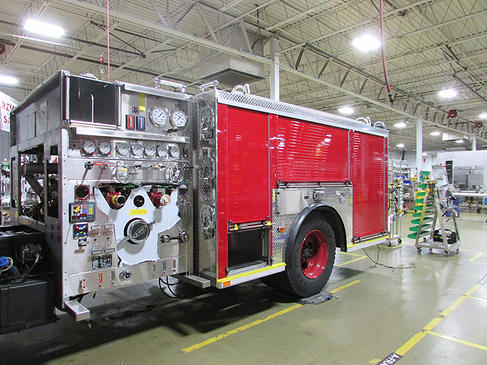 Fire engine being built for the Chicago FD so 140846