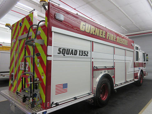 new fire truck for the Gurnee Fire Department
