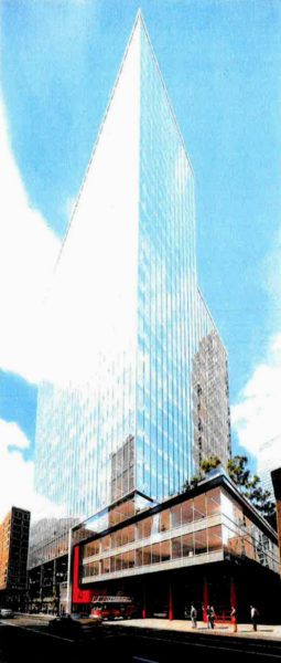proposed high-rise to replace Chicago fire station