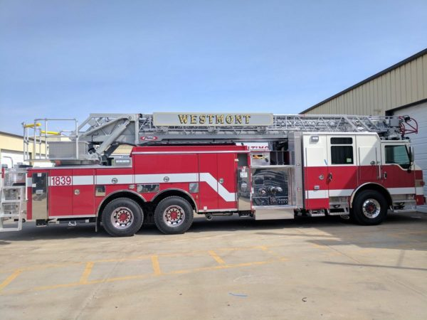 new fire truck for the Westment FD