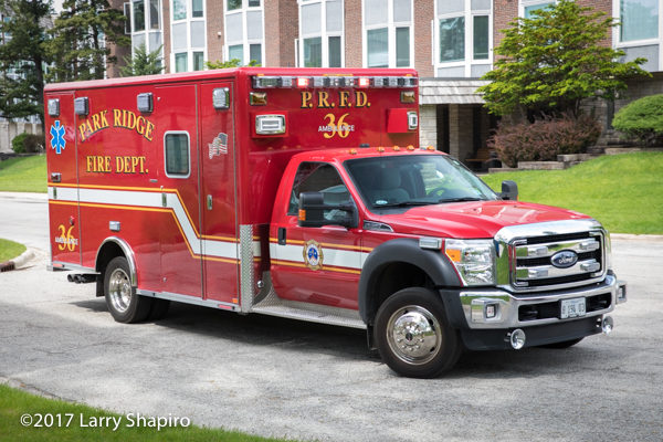Park Ridge FD Ambulance 36