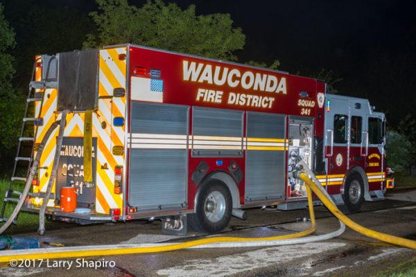 Wauconda FD Squad 341 Ferrara