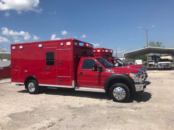 new ambulances for Aurora