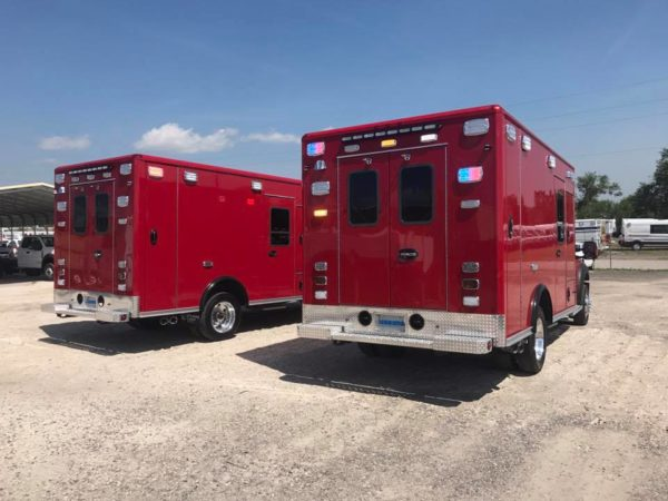 new ambulances for Aurora