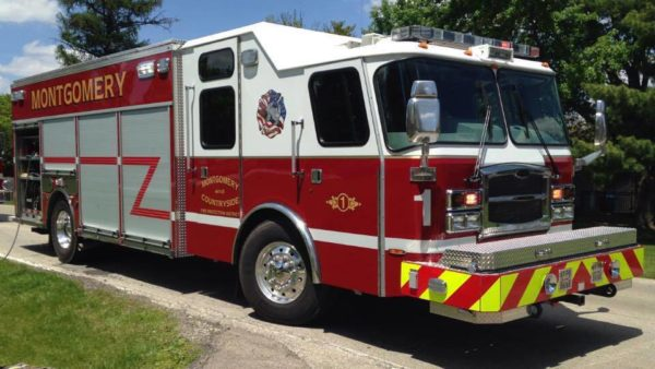 Montgomery & Countryside FPD fire truck