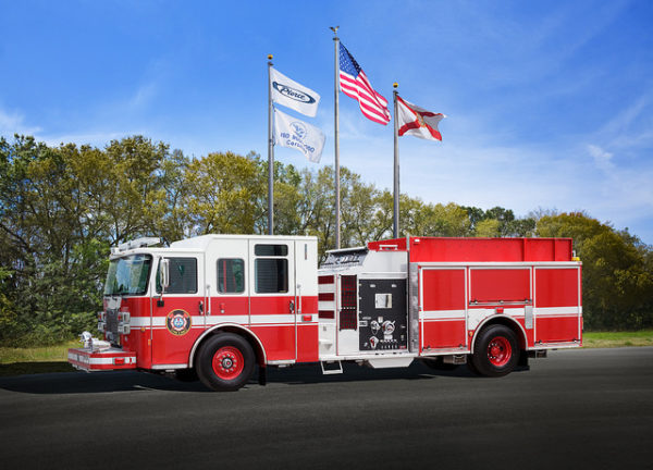 new fire engine for the Western Springs FD