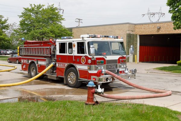 Skokie FD Engine 18