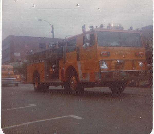 Elmhurst FD Engine 1 1974 Pierce