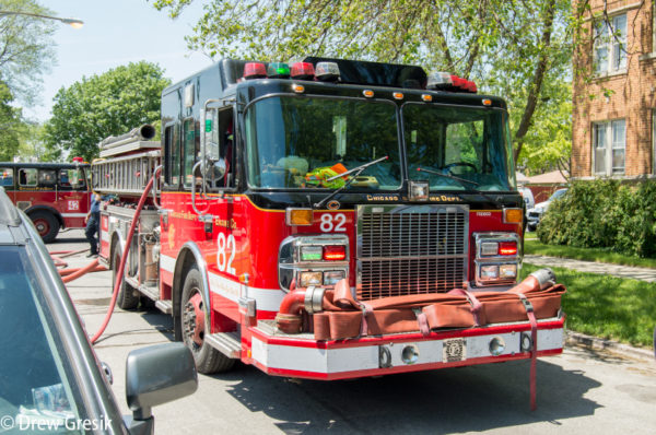 Chicago FD Engine 82