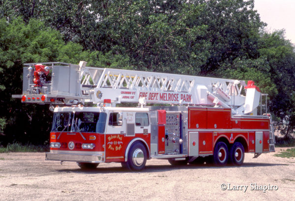 Melrose Park FD Grumman AerialCat tower ladder