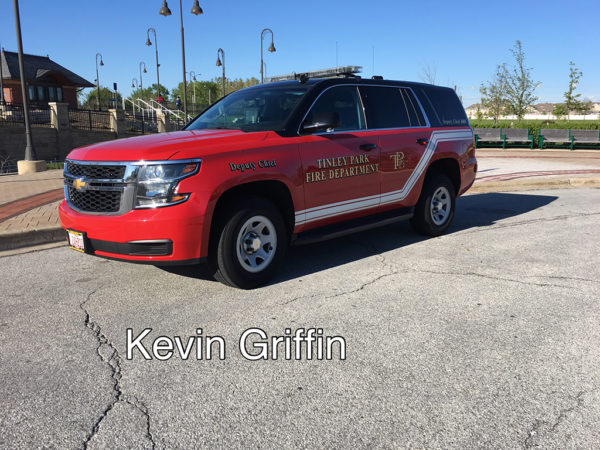 Tinley Park FD Deputy Chief car