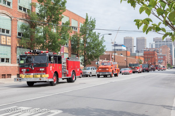 parade of fire engines