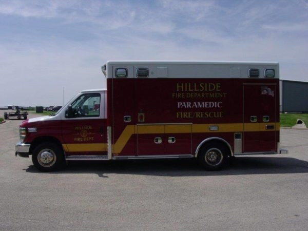Hillside FD ambulance