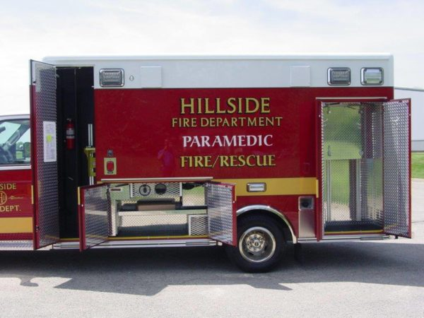 new ambulance delivery