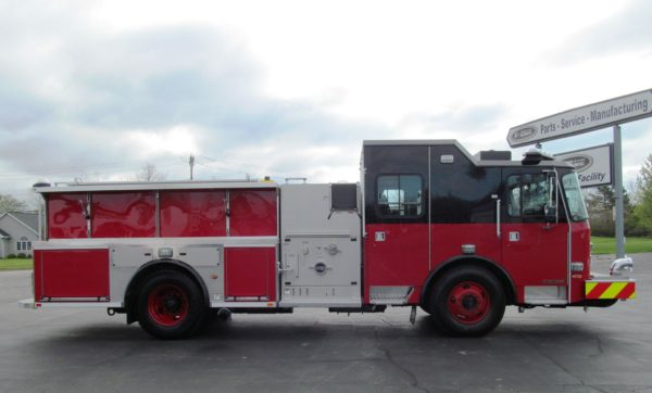 new fire engine for the Chicago Fire Department