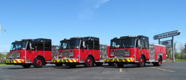 new fire engines for the Chicago Fire Department