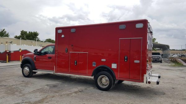 new ambulance before graphiocs