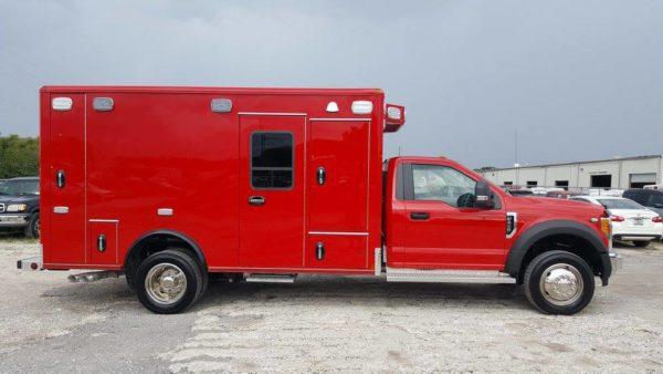 new ambulance before graphiocs