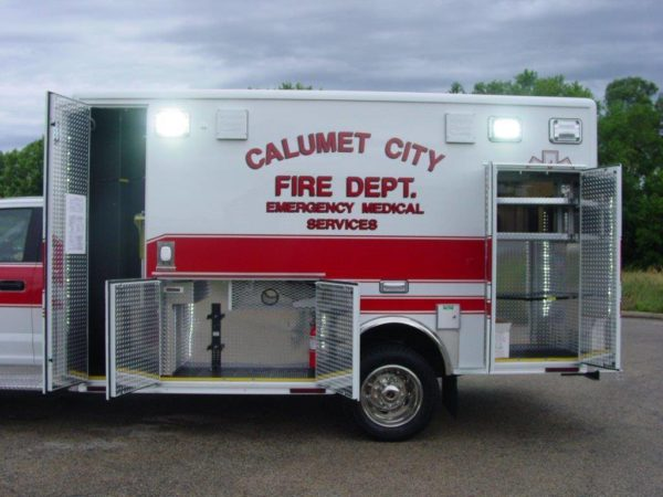 Calumet City FD ambulance