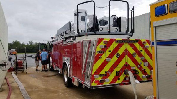 new fire truck for the Schiller Park FD