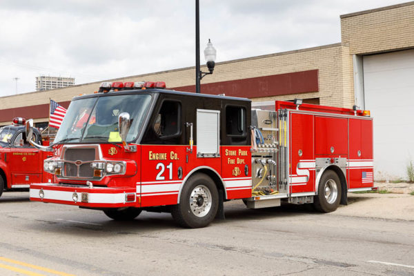 Stone Park FD Engine 21