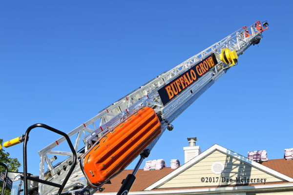 E-ONE aerial ladder