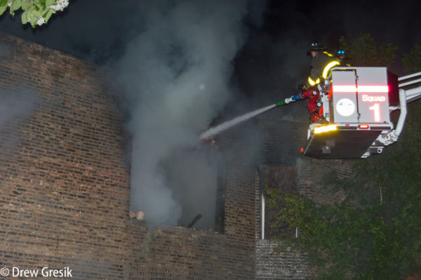 Chicago FD Squad 1 at work