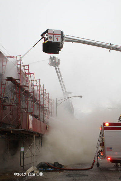 Chicago FD Squad 1A at work
