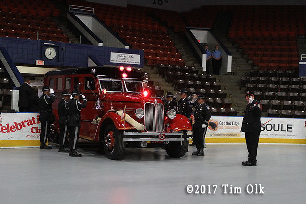 Funeral service for  Comstock Township MI Fire Chief Ed Switalski