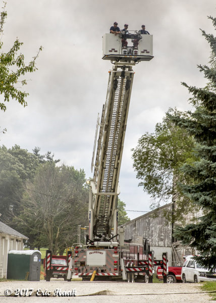 Frankfort FPD fire truck