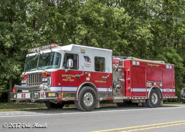 Manhattan FPD fire engine