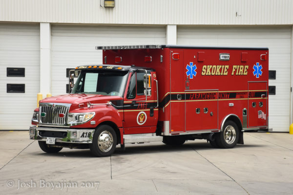 Skokie FD Ambulance 18