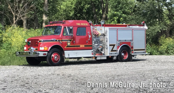 Merrionette Park Fire Department fire engine