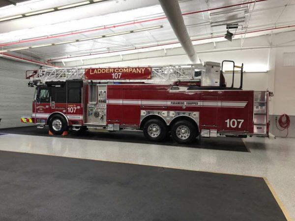 Bensenville FD Truck 107