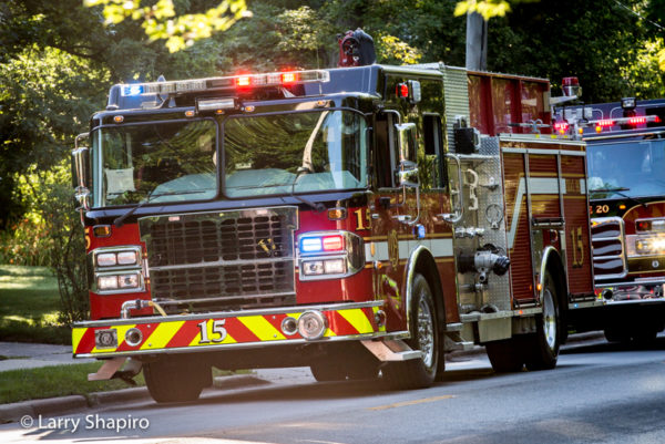 Lincolnwood FD Engine 15