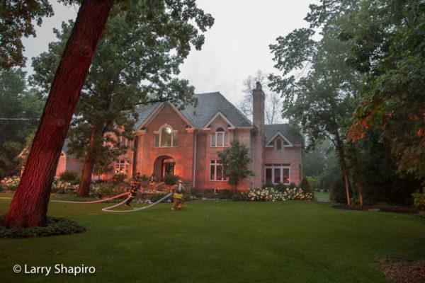 house fire inLong Grove Il