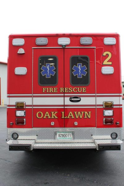 Oak Lawn FD Med 2 ambulance