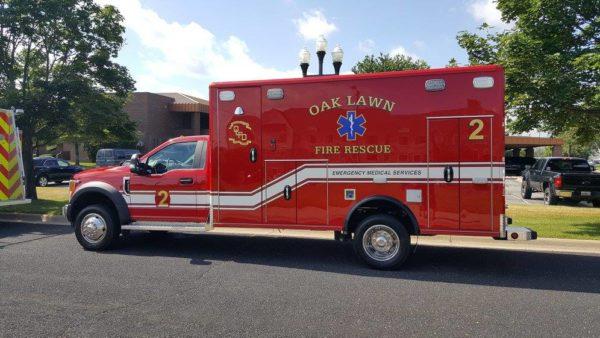Oak Lawn FD Med 2 ambulance