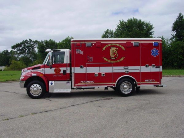 Bloomington FD ambulance