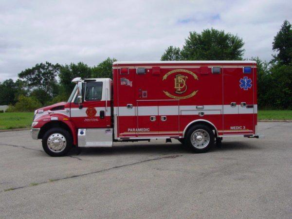 Bloomington FD ambulance