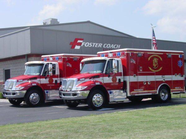 Bloomington FD ambulances