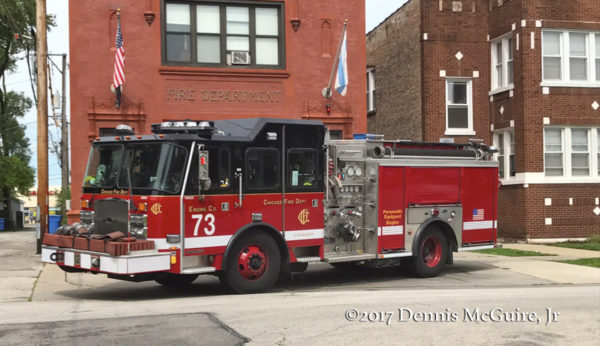 Chicago FD Engine 73