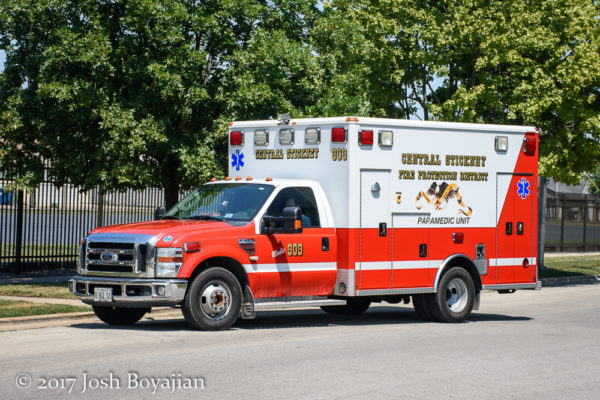 Central Stickney FPD Ambulance 909