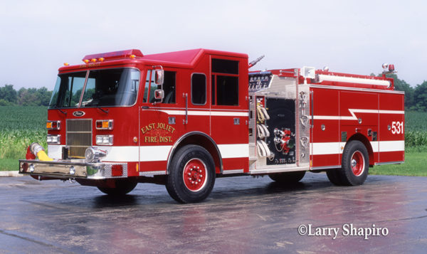 East Joliet FPD Engine 531