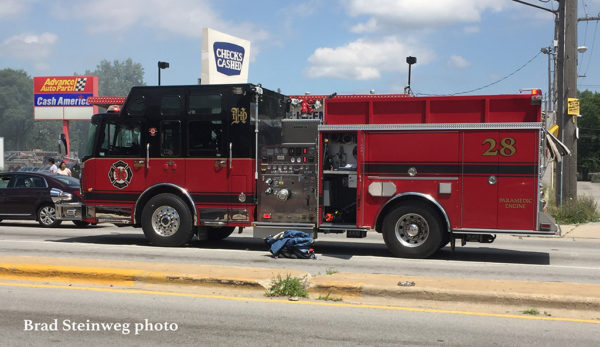 Homewood Fire engine