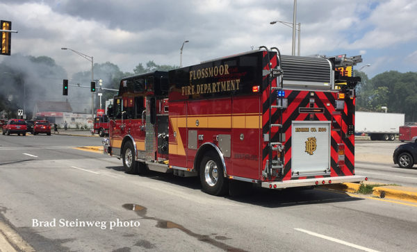 Flossmoor fire engine