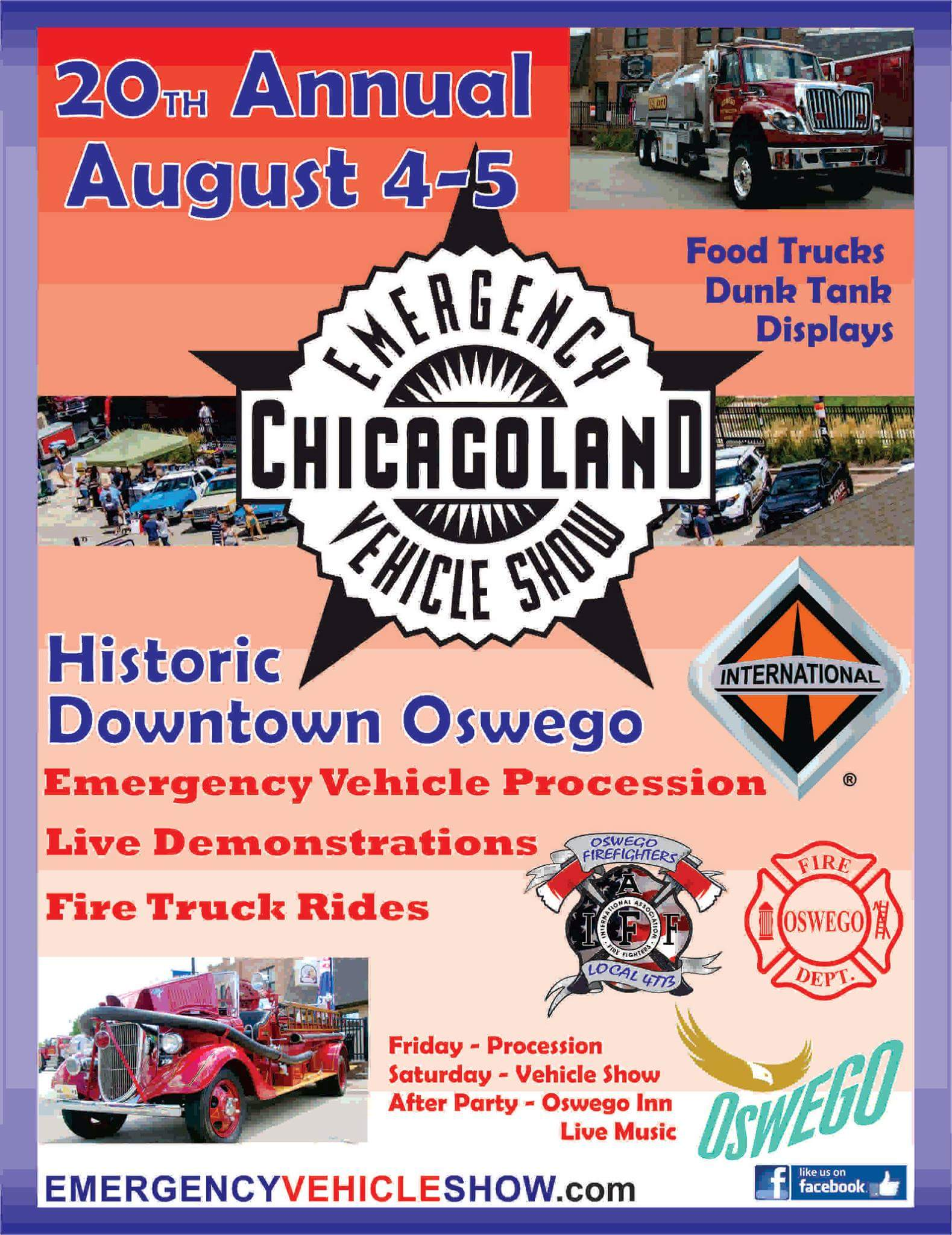 20th Annual Chicagoland Emergency Vehicle Show