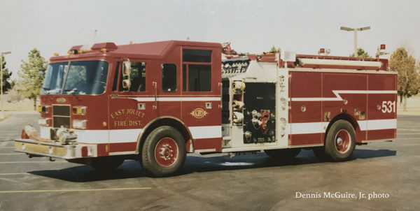 East Joliet FPD fire engine