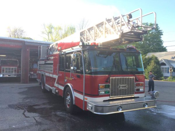 Former Evergreen Park FD ladder truck